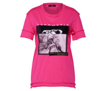 Shirt 't-Sily-Wb' pink / schwarz