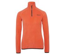 Fleeceshirt 'heike Sweatshirt' apricot