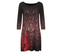 Kleid 'vest_Jaipur' mischfarben / schwarz