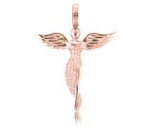 Halsschmuck: Anhänger ohne Kette mit Zirkonia 'Engel Erp--R'