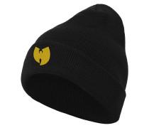 Beanie gelb / schwarz