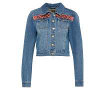 Jeansjacke 'chris' blau