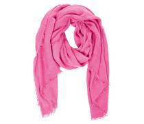 Strickschal pink