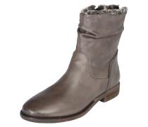 Ankle Boots 'Camilia-F' aus Leder greige