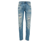Jeans '3301 Tapered' blue denim