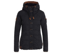 Winterjacke 'Breakfast Club' schwarz