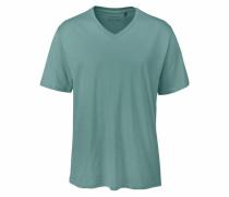 Herren T-Shirt mit V-Neck opal