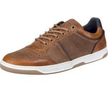 Sneakers Low navy / karamell