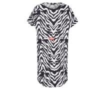 Kleid 'tibelda' schwarz / weiß