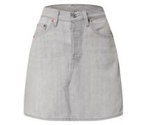 Rock 'HR Decon Iconic BF Skirt' grey denim