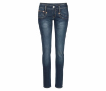 Slim-fit-Jeans 'Shyra Slim' blue denim