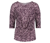 Shirt dunkellila / altrosa