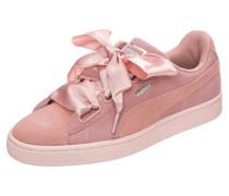 'Suede Heart Pebble' Sneaker rosa