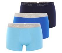Boxershorts blau / navy / hellblau