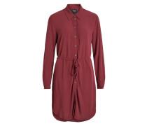 Hemd-Kleid pastellrot