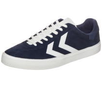 Sneaker 'Diamant Suede' blau / weiß