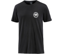 'flag' T-Shirt schwarz