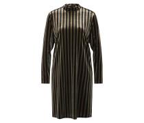 Kleid 'Rasmine' gold / schwarz