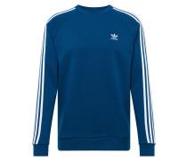 Sweater '3-Stripes' blau / weiß