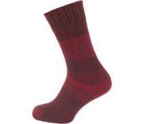 Socken rot / dunkelrot