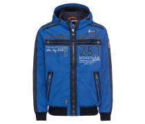 Jacke 'Jacket with Hood' blau