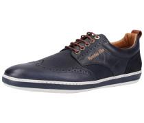 Sneaker marine / karamell / weiß