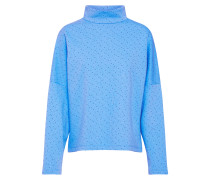 Sweatshirt 'Clia Lil' blau