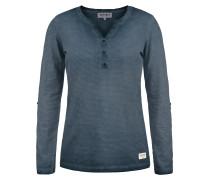 Langarmshirt 'Karina' blau