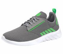 Sneaker 'Aeronaut' grau / dunkelgrün