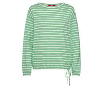 Shirt hellgrün / weiß