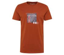 Shirt 'CN Band Tee' dunkelorange
