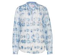 Sommerliche Bluse hellblau