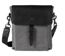 Messenger Bag rauchgrau / schwarz