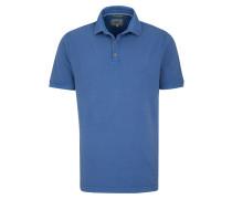 Polo-Shirt blau