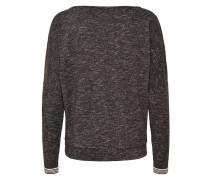 Sweatshirt schwarzmeliert