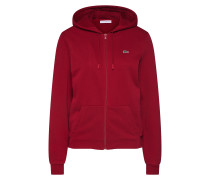 Sweatjacke bordeaux