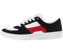 Sneaker 'Senix Lo' rot / schwarz / weiß