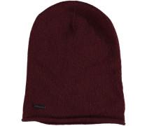 Mütze 'Monaci' bordeaux