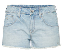 Shorts 'Arc' blue denim