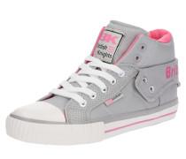 Sneaker 'roco' hellgrau / rosa