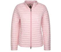 Ultralightdaunenjacke 'sunny' rosa / weiß