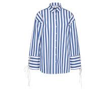 Shirt 'Tess' blau / weiß