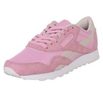 Sneaker im klassischen Look rosa