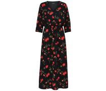Kleid 'Laura' rot / schwarz