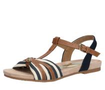 Sandale navy / kupfer