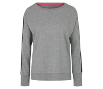 Sport-Sweatshirt hellgrau