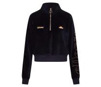 Sweatshirt 'sarasso' gold / schwarz