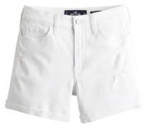 Jeansshorts white denim
