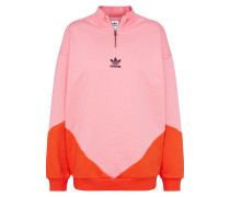 Sweatshirt 'clrd' pink / rot