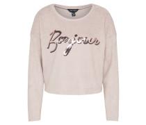 Sweatshirt 'c+S Bonjour Sequin' puder